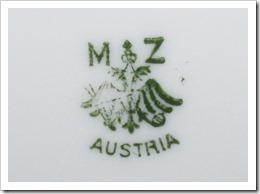 Fishtail Cottage Mz Austria Plates