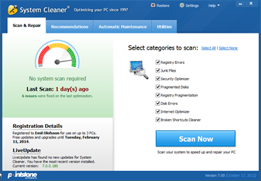 System Cleaner - Optimize Your Windows System