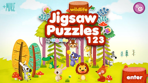 儿童拼图123免费版 - 野生动物篇