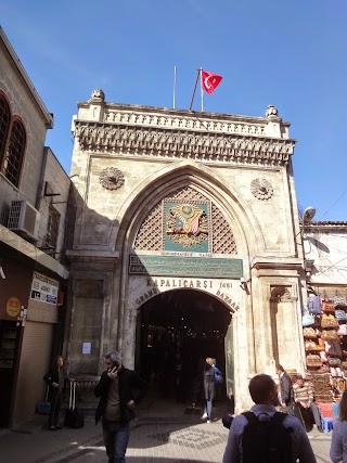 Porte du Grand Bazar d'Istanbul