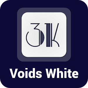Voids White   Icon Pack v1.2.4