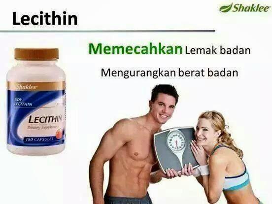 pecah dan bakar lemak berlebihan dengan lecithin