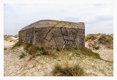 Atlantikwall - Stp Adolf - Toilettenbunker von außen