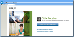 Terence Luk: Which Citrix Receiver do I use when configuring Pass