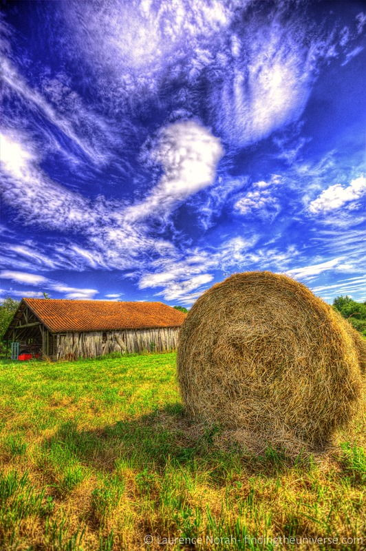 hay bale HDR scaled