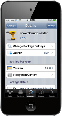 powersounddisabler-cydia-tweak
