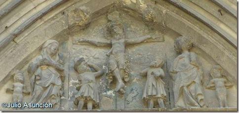 Iglesia del Santo Sepulcro - Crucifixión