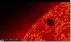 Venus treks across the Sun_photos2