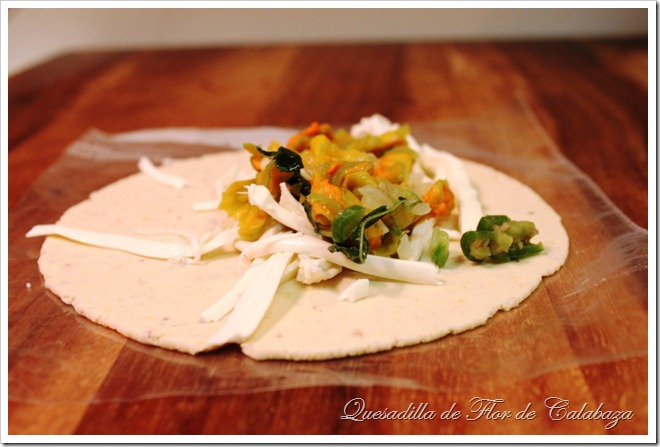 Squash Blossoms Quesadillas | I hope you enjoy this delicious recipe