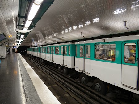 Metro parizian