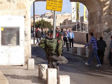 . Intrarea in Ierusalimul vechi