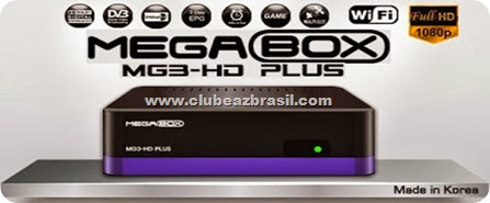 MEGABOX MG3 HD PLUS SATELITE