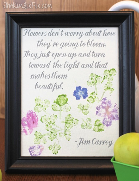Flowers blooming quote
