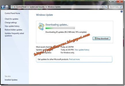 douwload Update Windows