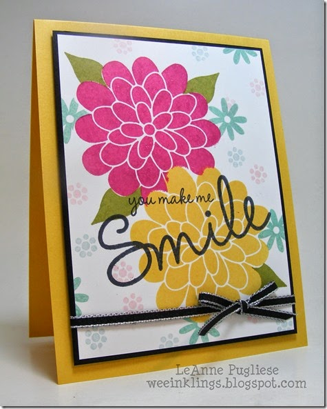 LeAnne Pugliese WeeInklings So You Flower Patch Stampin Up