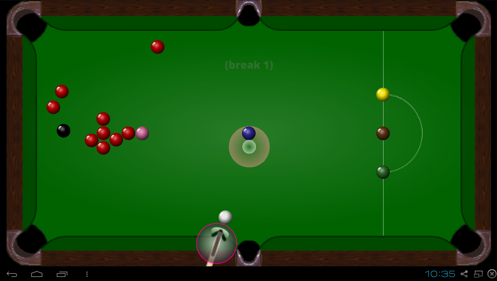 Funky Snooker- screenshot