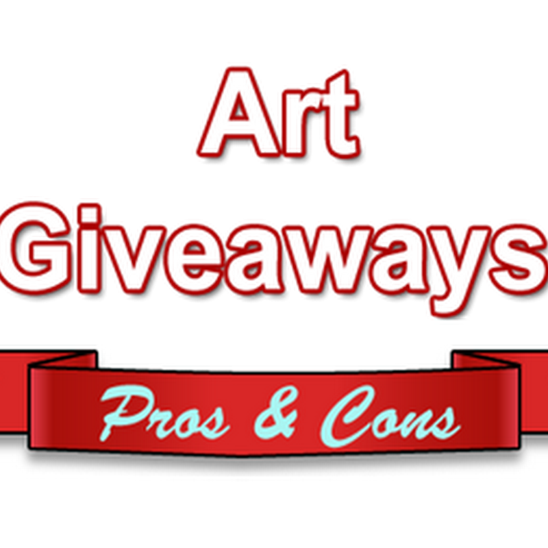 Pros and Cons of Using Art Giveaways to Promote Your Work