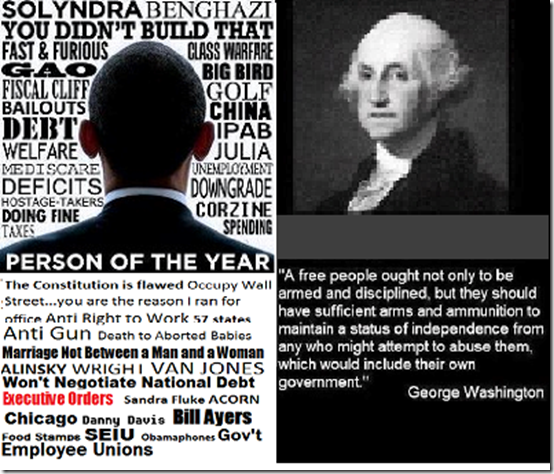 Person of the year george washington