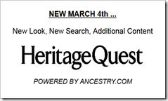 HeritageQuest现在由Ancestry.com提供支持