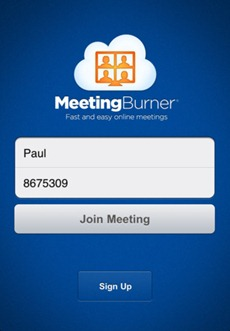 Meeting Burner para iPhone