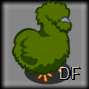 Green Silkie Chicken