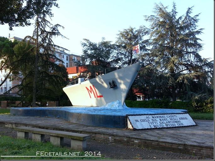 Monumenti ai caduti di Via Pomposa, Ferrara
