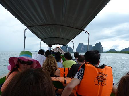 Imagini Thailanda: plecare din Phang Nga