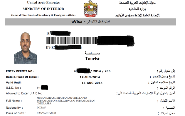 UAE Visa for Indians