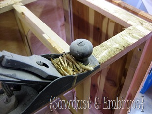 Replacing sides of a dresser {Sawdust & Embryos}