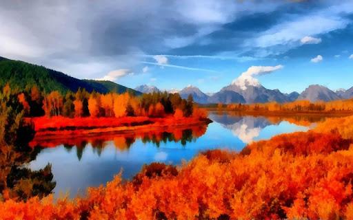 Amazing River Landscape