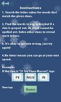 Screenshot of 21 Ice Clues