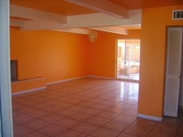 Cat Rumah Minimalis Warna Orange