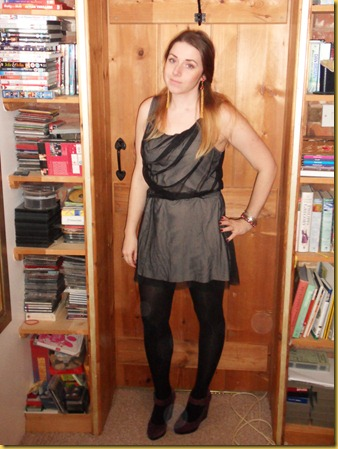 In which I dress up for a NYE spent on the sofa
