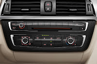 New BMW 3 Series: Air conditioning and radio control panel (10/2011)