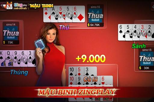 Poker VN - Mu1eadu Binh u2013 Binh Xu1eadp Xu00e1m - ZingPlay 3.9 screenshots 1