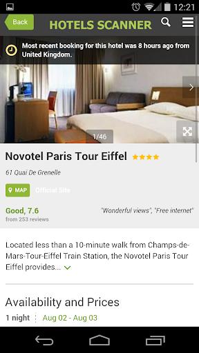 Hotels Scanner