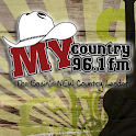 My Country 96.1 logo