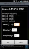 Screenshot of Simple Steps - Pedometer v2