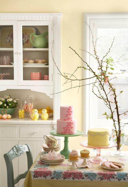 pink-yellow-green-birthday-party-country-dining-room1