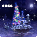 Christmas Snow Fantasy Live Wallpaper icon