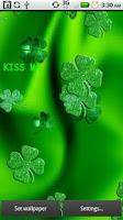 Screenshot of Sparkle Green Shamrocks Live