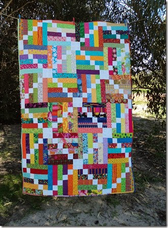 Bee Blocks Quilt 2014