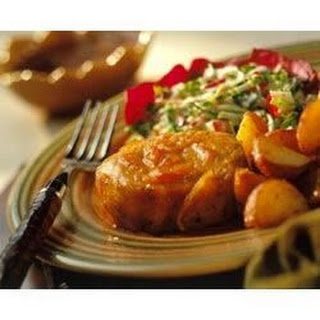 Orange-Sesame Pork Chops Recipe