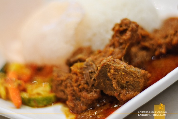 Beef Rendang at Tastes of Asia in Sentosa, Singapore