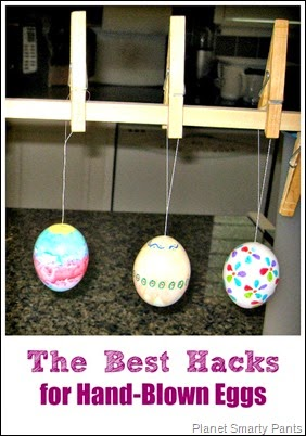 The best tricks for blowing eggs and decorating them for Easter