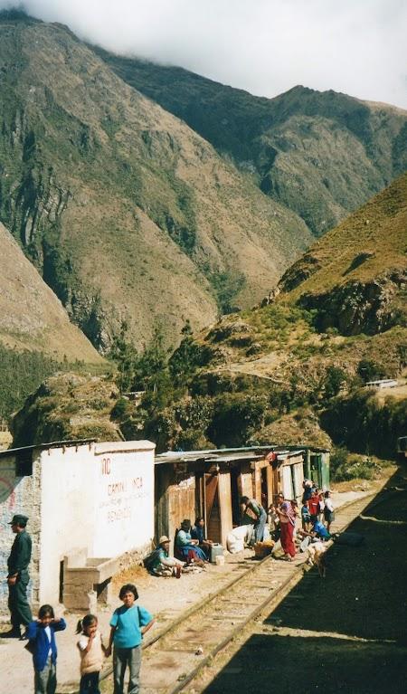 Gara spre Macchu Picchu