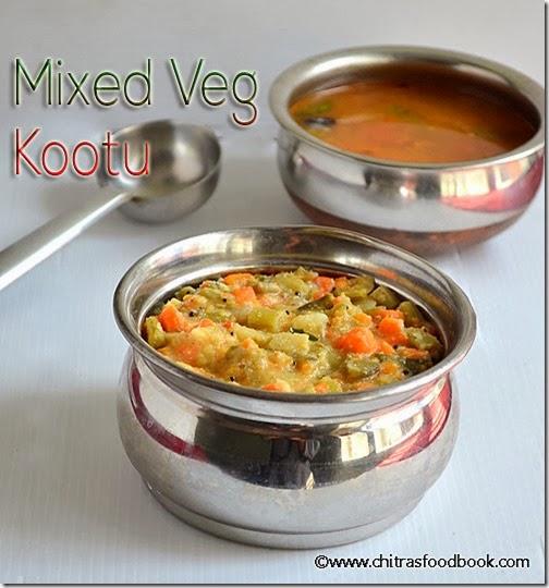 mixed-veg kootu