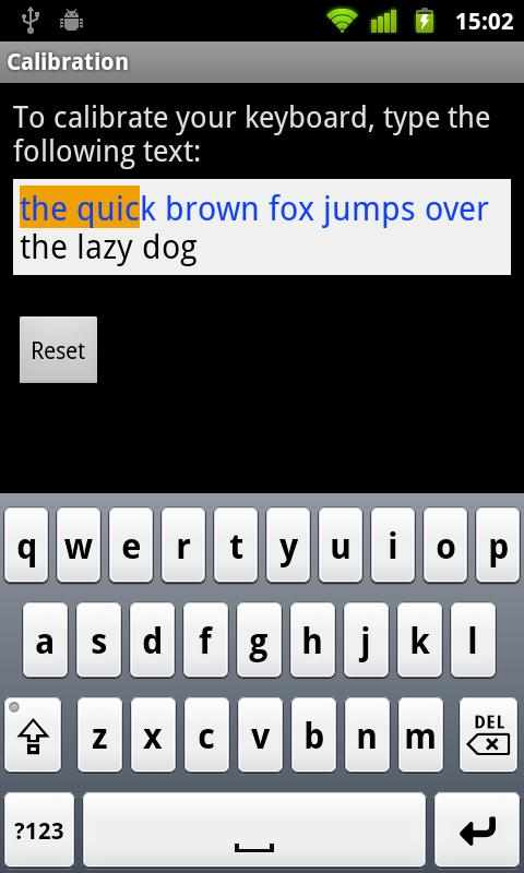 Hebrew for Smart Keyboard - screenshot