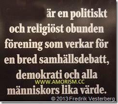 DSC00308.JPG Mänskliga rättighetsdagarna 2013. Med amorism