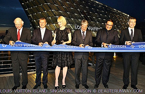 Louis Vuitton Singapore Island Maison Opening Cate Blanchette at Marina Bay Sands